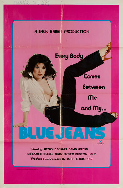 Blue Jeans X Rated Movie Poster