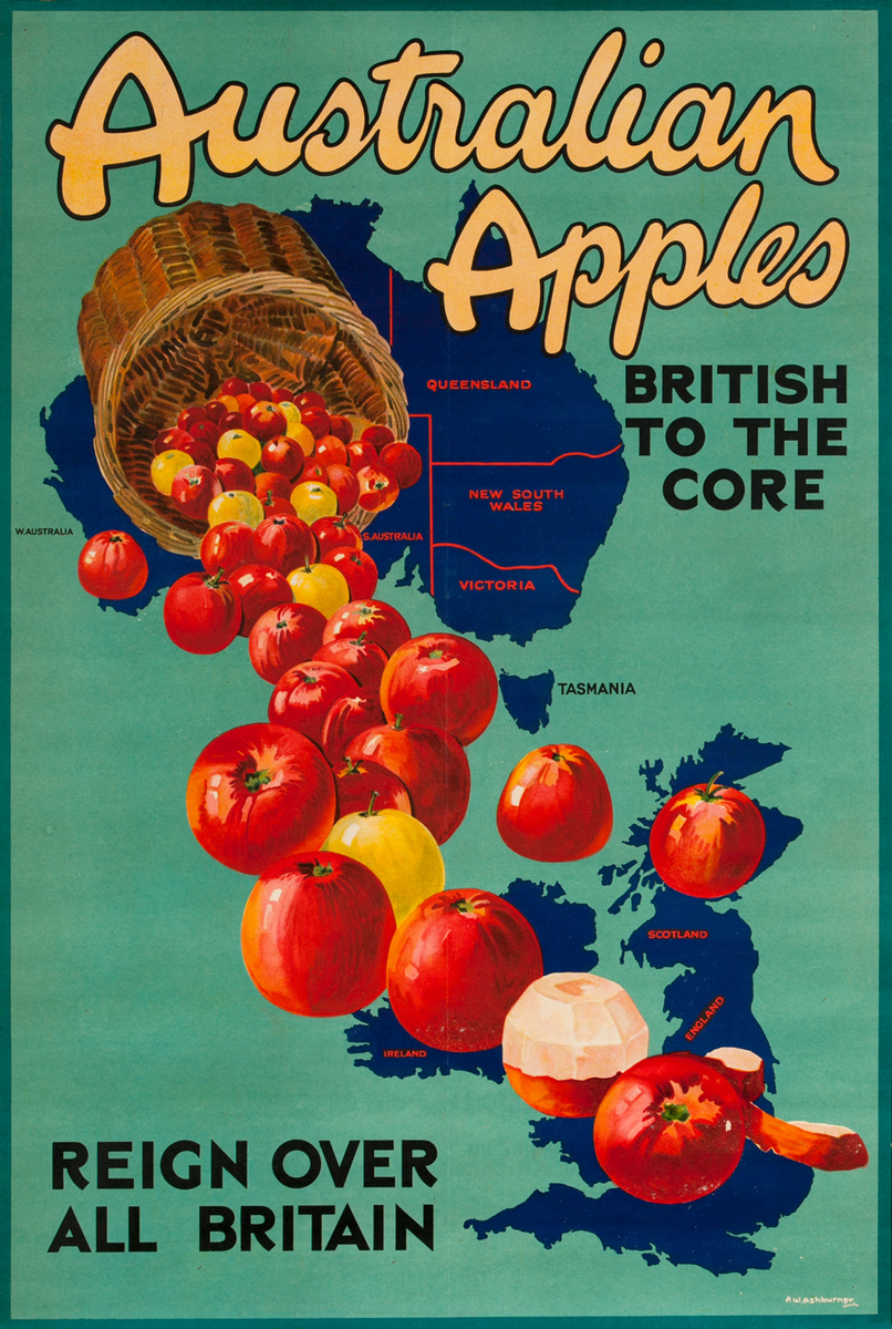 Australian Apples British to the Core