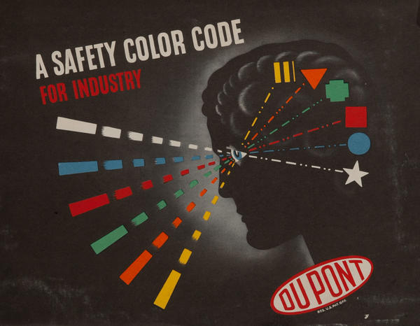 Dupont A Safety Color Code for Industry, Brochure