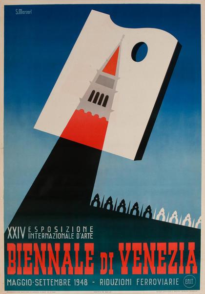 XXIV Biennale di Venezia Italian Travel Poster