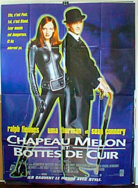 The Avengers French Release Original Movie Poster