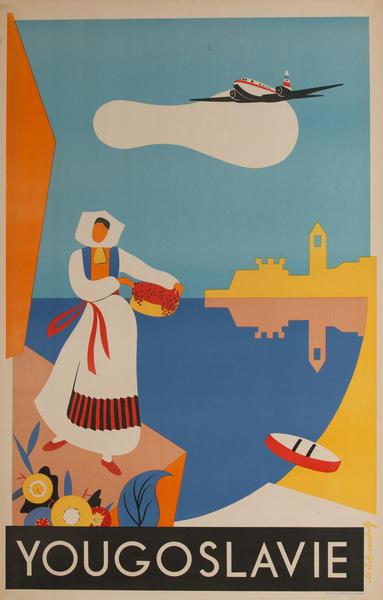 Yougoslavie Travel Poster