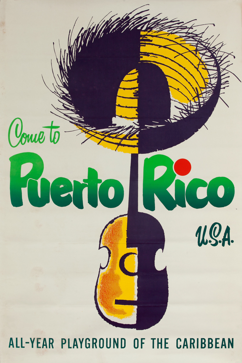 Come to Puerto Rico USA<br>All-Year Playground of the Caribbean
