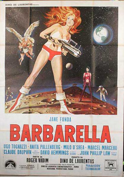 Barbarella Original Italian Movie Poster