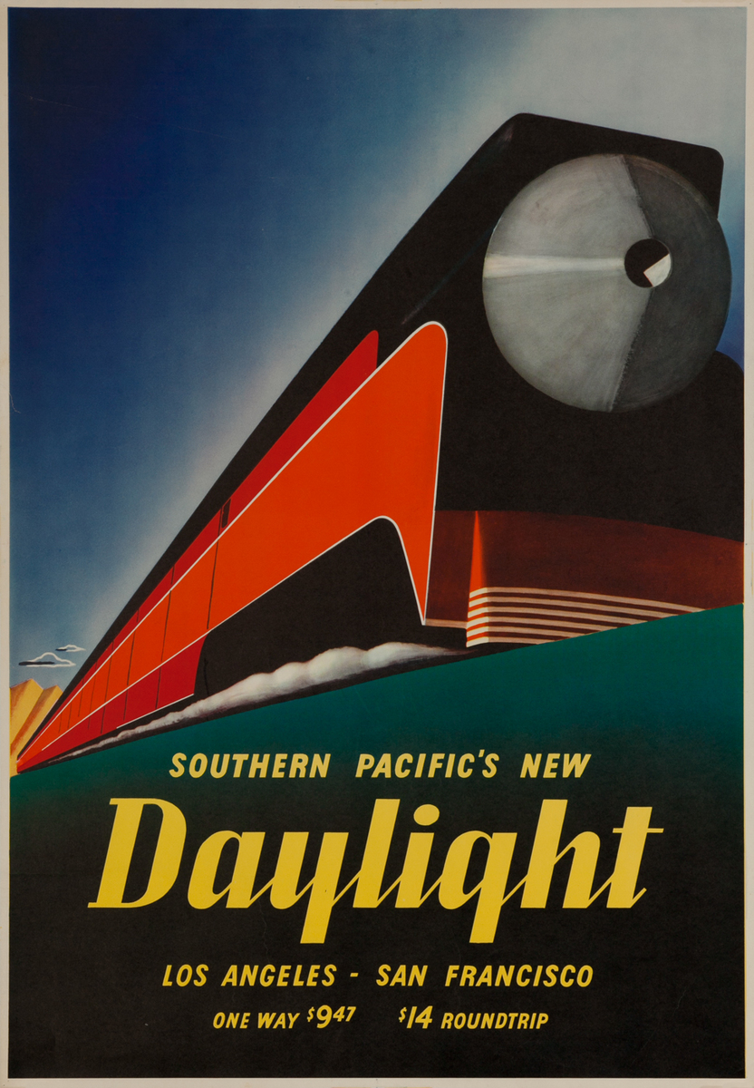 Southern Pacific's New Daylight Los Angeles San Francisco