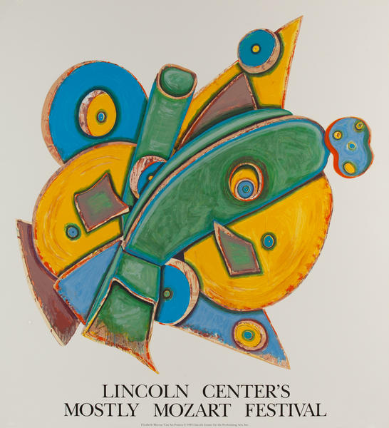Lincoln Center's Mostly Mozart Festival Poster, Murray