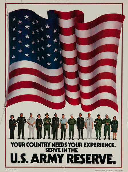 Your Country Needs Your Experience. Serve in the U.S. Army Reserve.