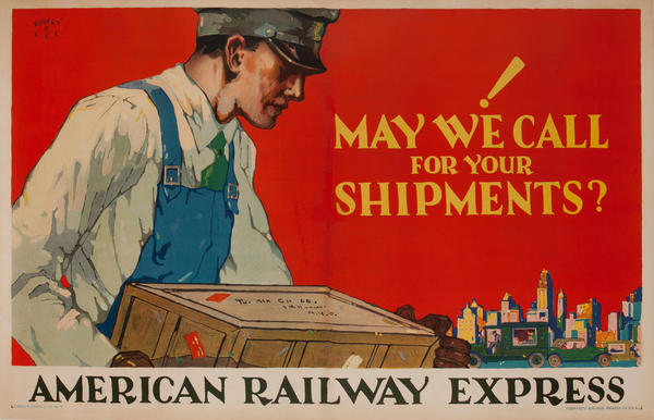 American Railway Express, May We Call For Your Shipments?