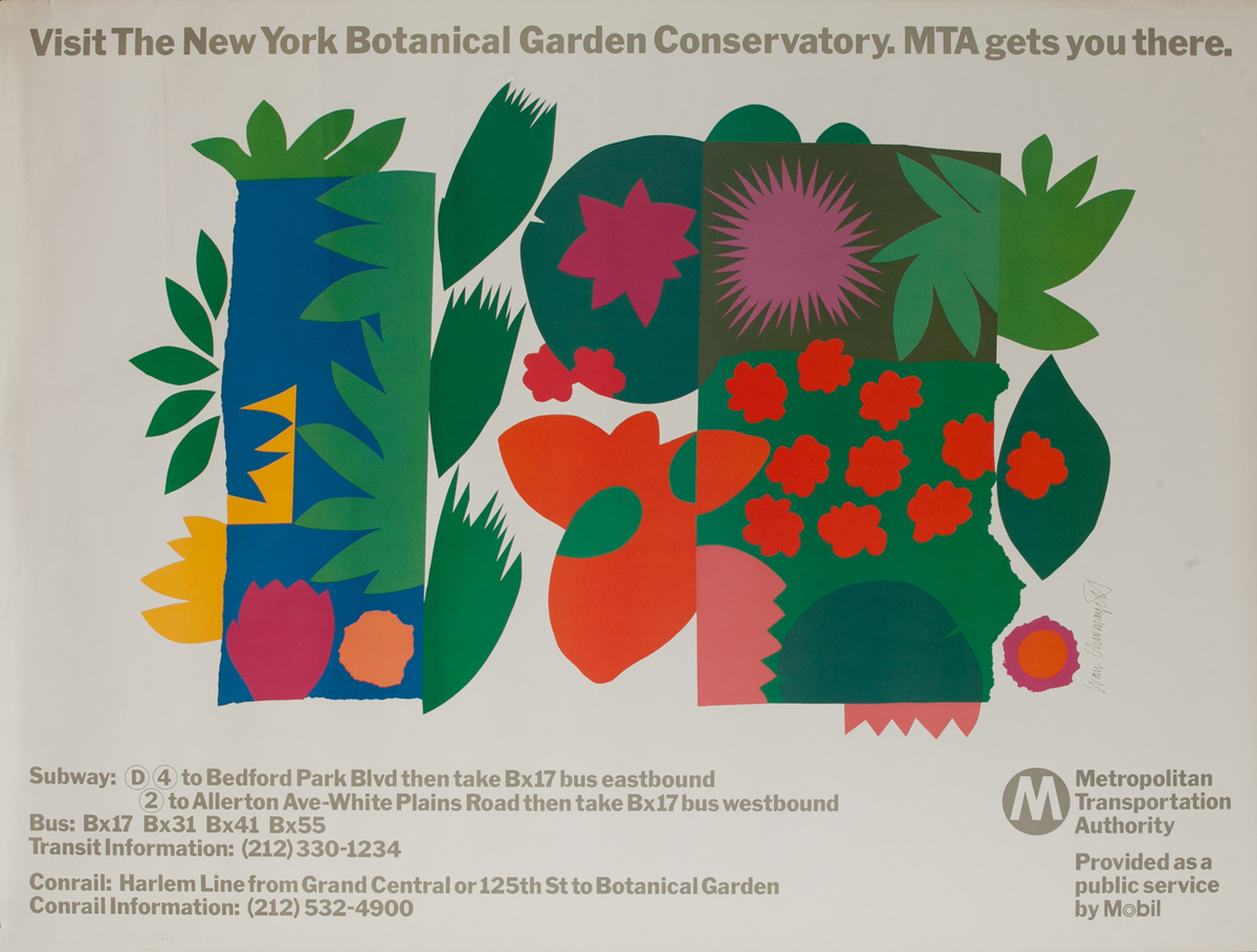 Visit The New York Botanical Garden Conservatory, MTA gets you there.