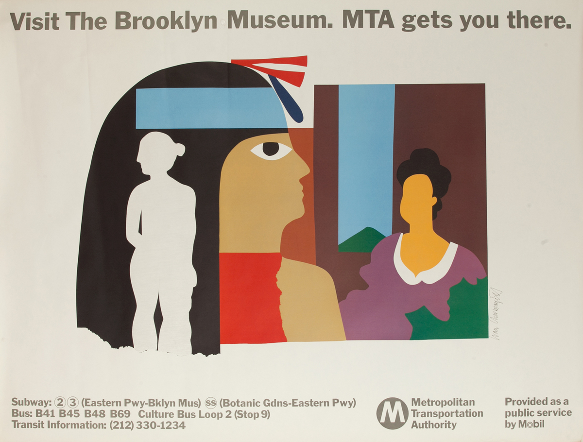 Visit the Brooklyn Museum, MTA gets you there.
