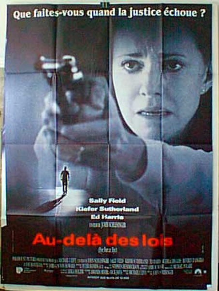 An Eye For An Eye French Release Original Movie Poster