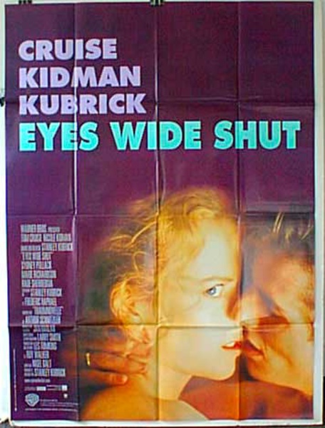 Eyes Wide Shut French Release Original Movie Poster