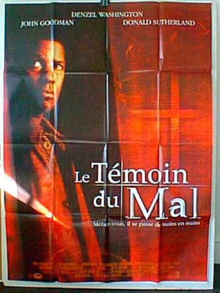 Fallen French Release Original Movie Poster