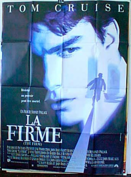 The Firm French Release Original Movie Poster