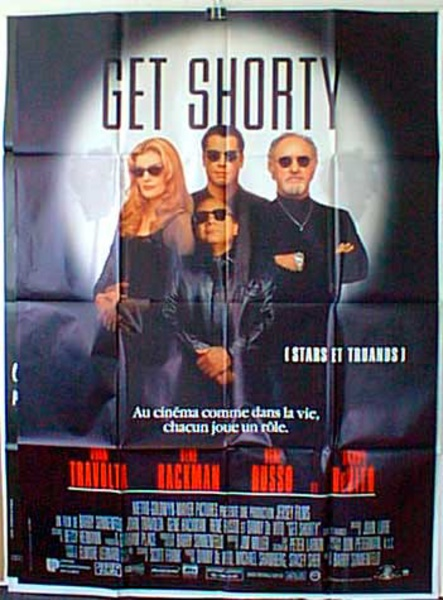 Get Shorty French Release Original Movie Poster