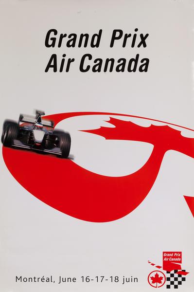 Gran Prix - Air Canada Travel Poster
