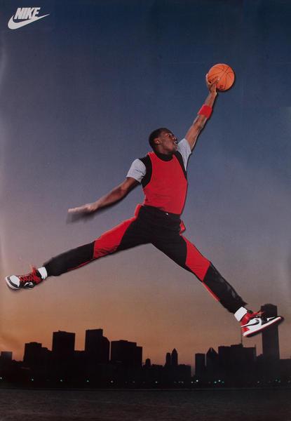 Nike Bus Shelter Poster, Basketball