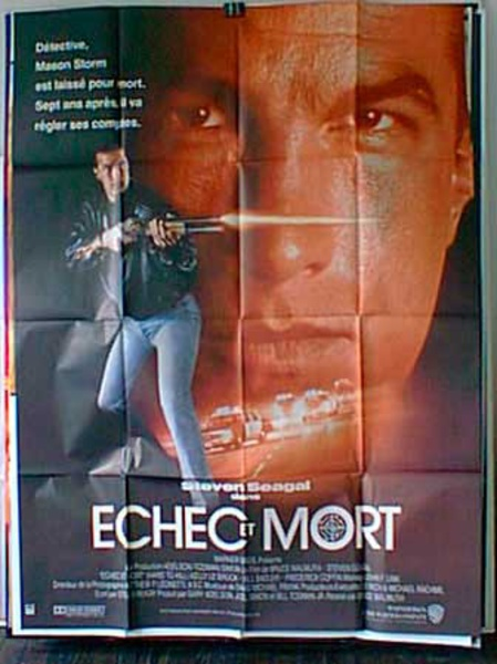Hard to Kill French Release Original Movie Poster
