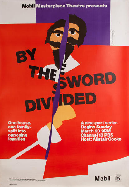 By the Sword Divided, PBS Mobil Masterpiece Theatre Poster