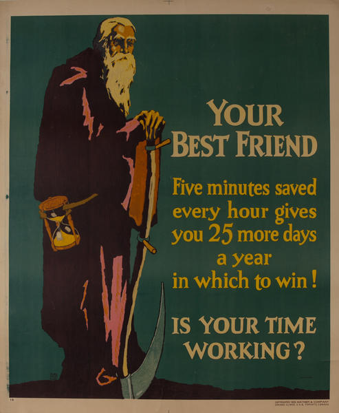 Your Best Friend, Mather Work Incentive Poster