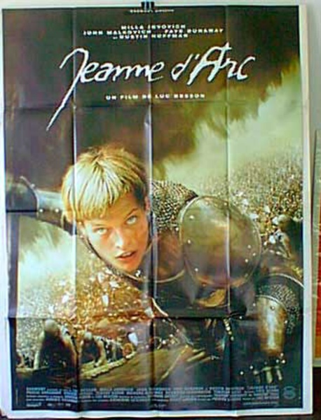 Jeanne D'Arc French Release Original Movie Poster