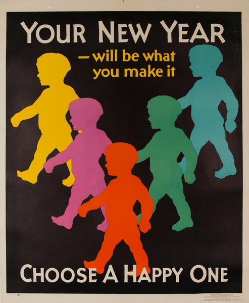 Your New Year - will be what you make it. Mather Work Incentive Poster