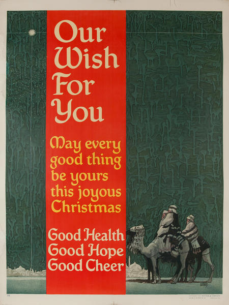 Our Wish For You - Mather Work Incentive Poster