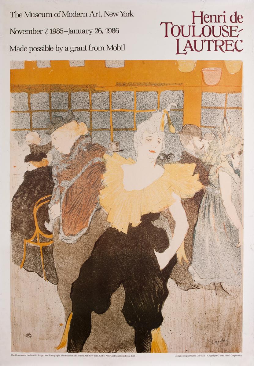 Museum Of Modern Art Henri de Toulouse Lautrec