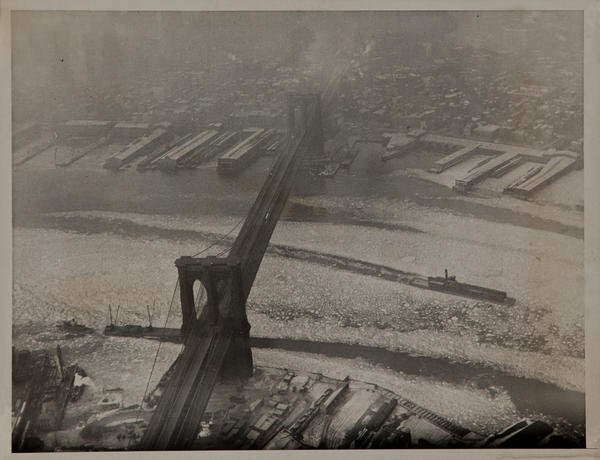 Brooklyn Bridge Aerial Photo