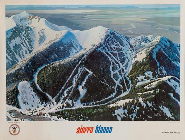 Sierra Blanca Ski Trail Map