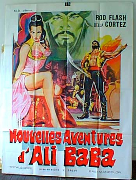 New Adventures of Ali Baba French Release Original Movie Poster
