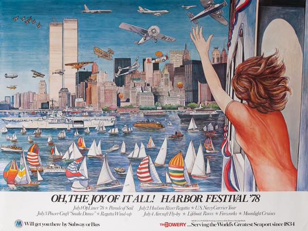 New York City (NYC) Harbor Festival Poster 1978