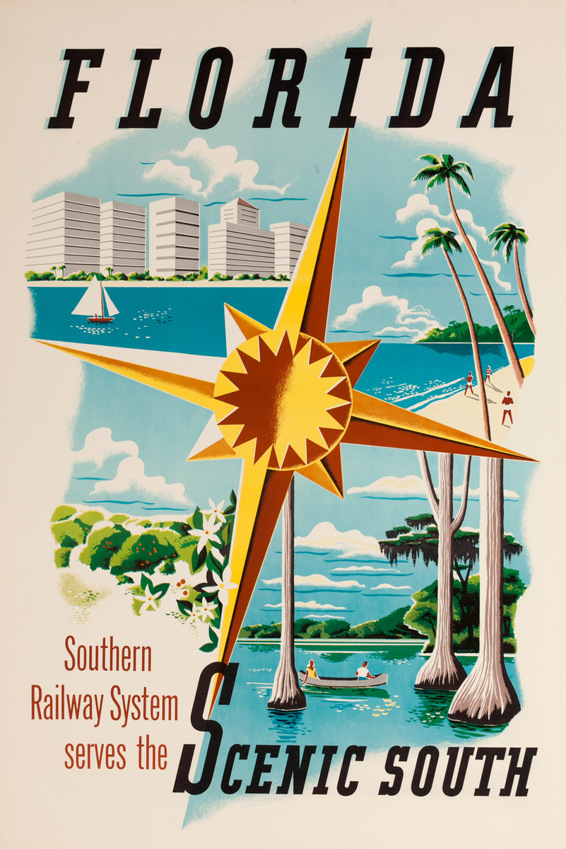 Florida Scenic South, Southern Railways System