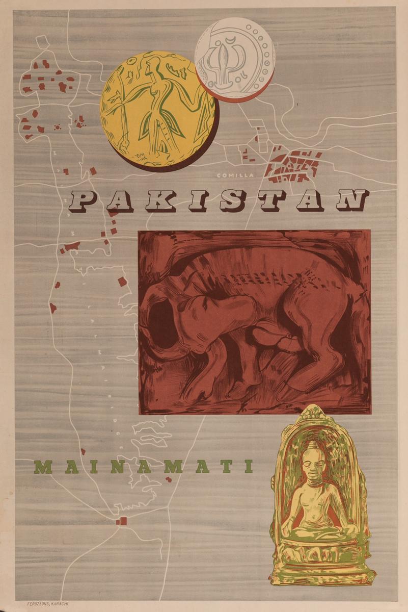 Mainamata, Pakistan Travel Poster