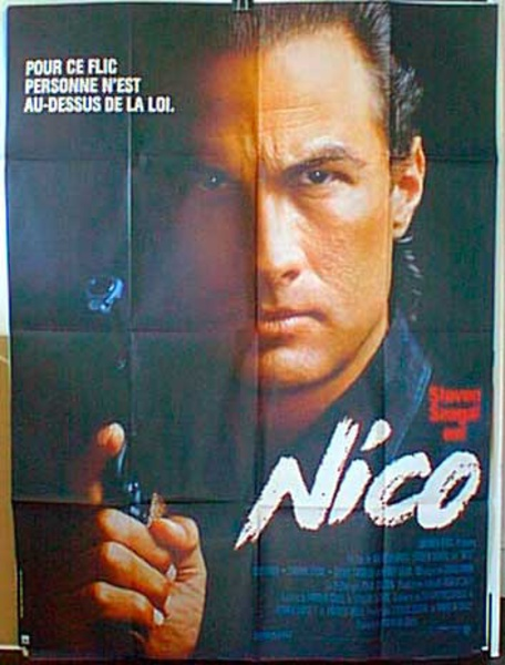 Nico French Release Original Movie Poster original Title Above the Law