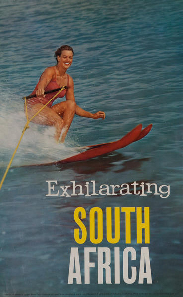 Exhilerating South Africa, Water Skiiing