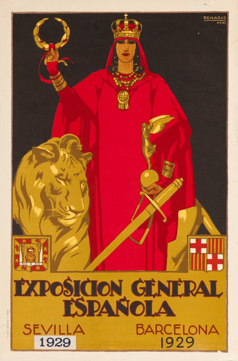 Exposicion General Española, Sevilla Barcelona