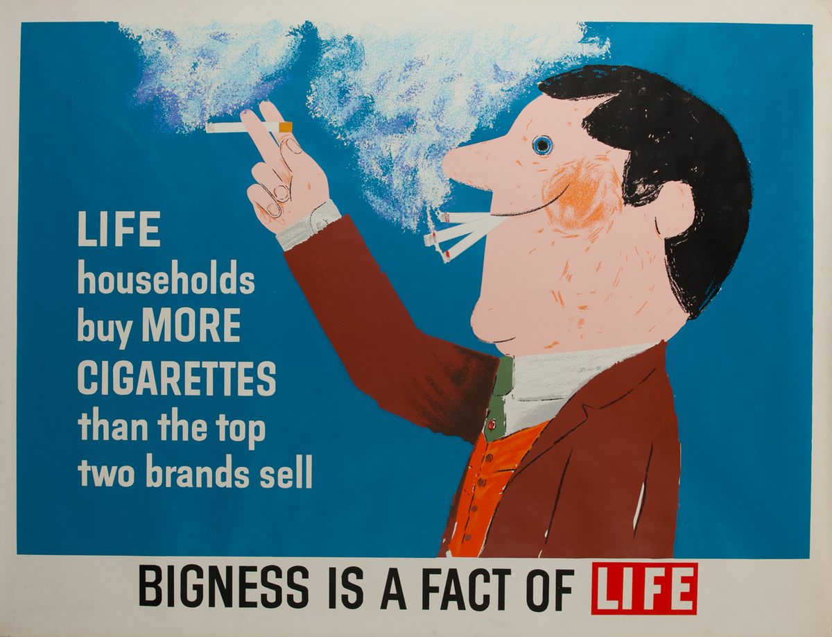 Bigness is a fact of Life, Cigarettes