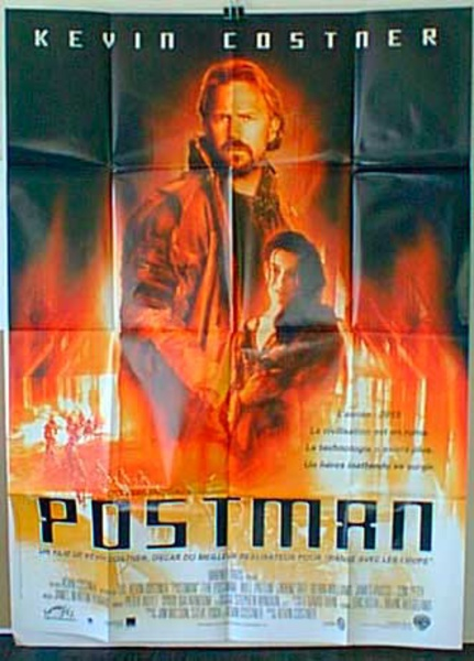 Postman French Release Original Movie Poster