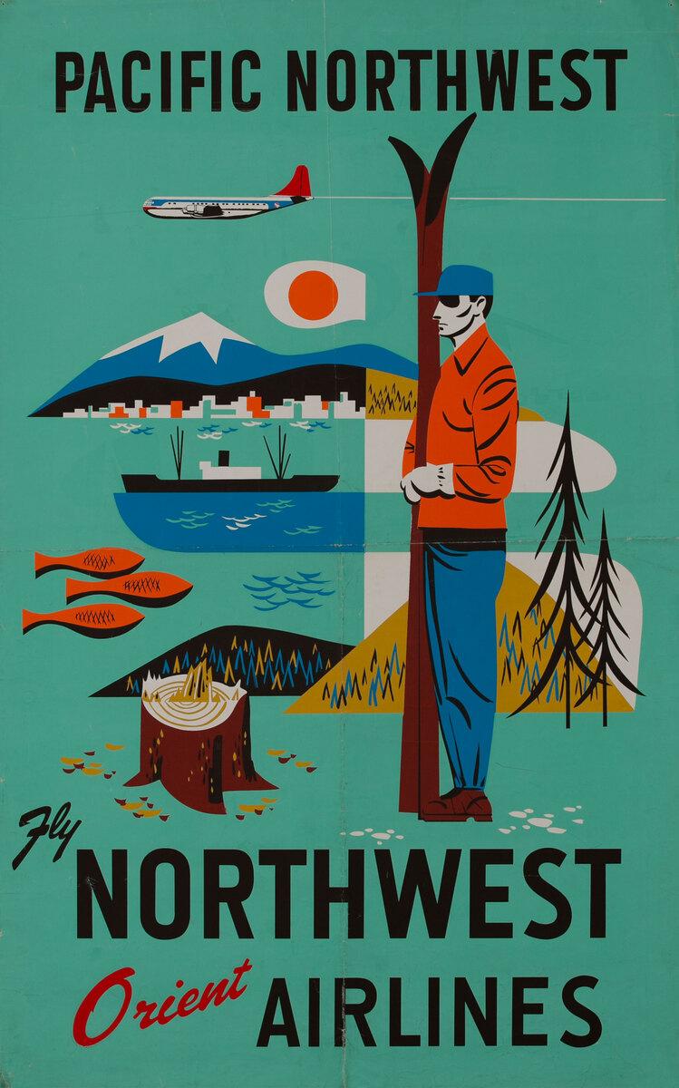 Fly Northwest Orient Airlines, Pacific Northwest