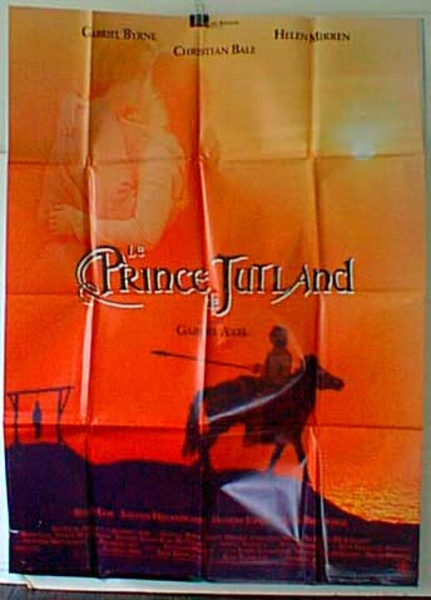Prince of Jutland French Release Original Movie Poster