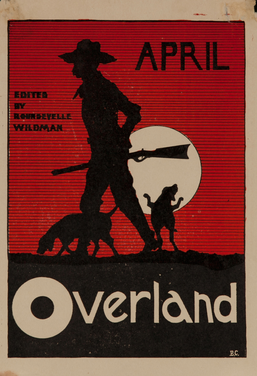 April Overland, American Literary Magazine Poster
