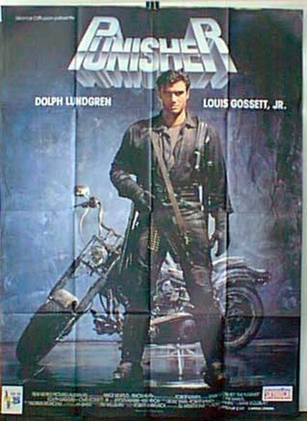 Punisher French Release Original Movie Poster