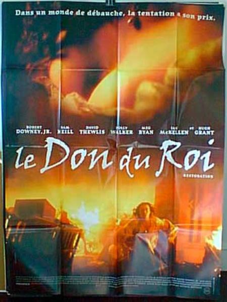 Restoration French Release Original Movie Poster