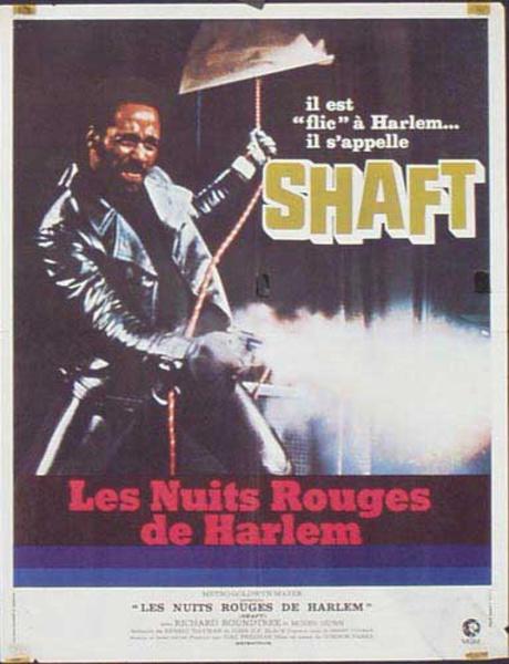 Shaft Original French Movie Advertising Poster