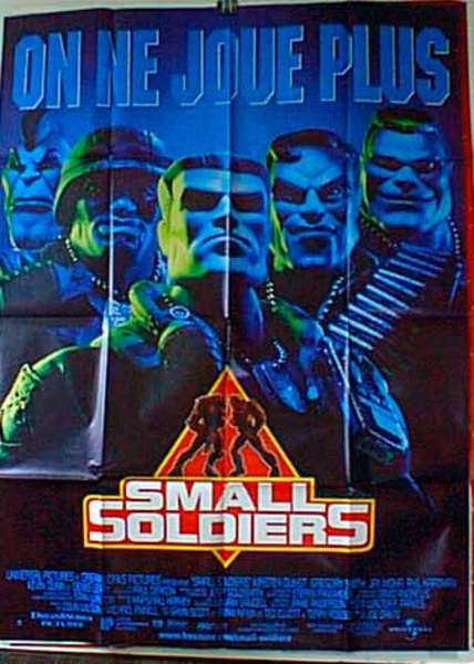 Small Soldiers French Release Original Movie Poster