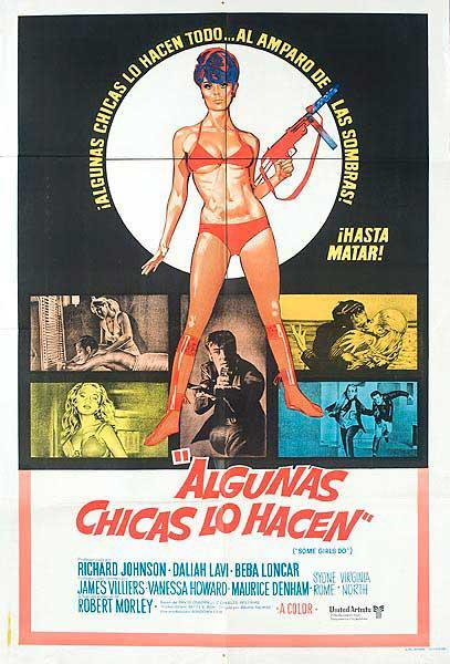 Some Girls Do Original Argentina Movie Poster
