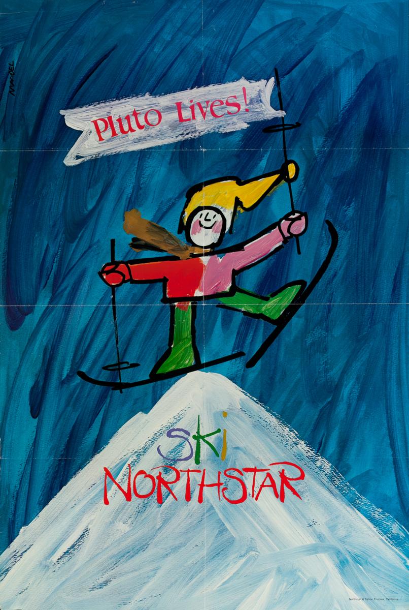 Pluto Lives! Ski Northstar