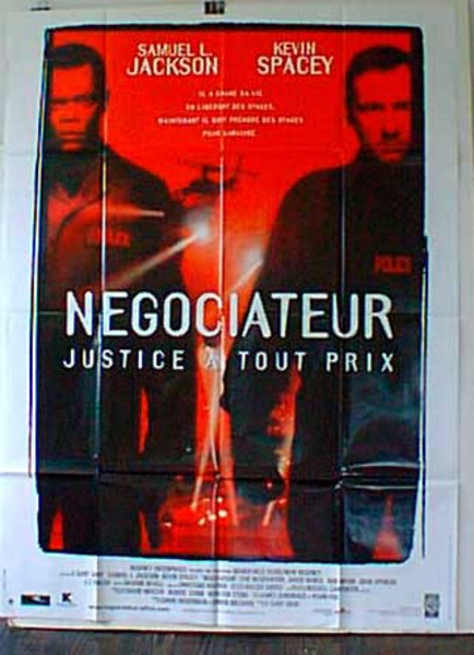 The Negotiator French Release Original Movie Poster