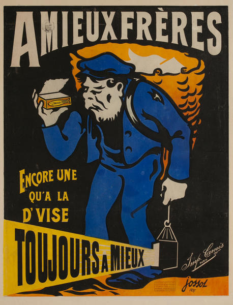 Amieux Frères French Advertising Poster